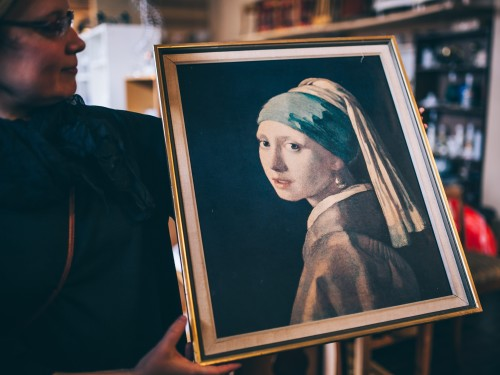 """Vermeeri originaali """"Tütarlaps pärlkõrvarõngaga"""" eest maksti kolmteist aastat tagasi 16 245 600 £."""