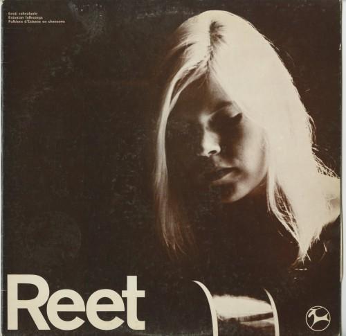 """Reet Hendrikson. """"Eesti rahvalaule"""" (Reindeer Records, 1969)"""