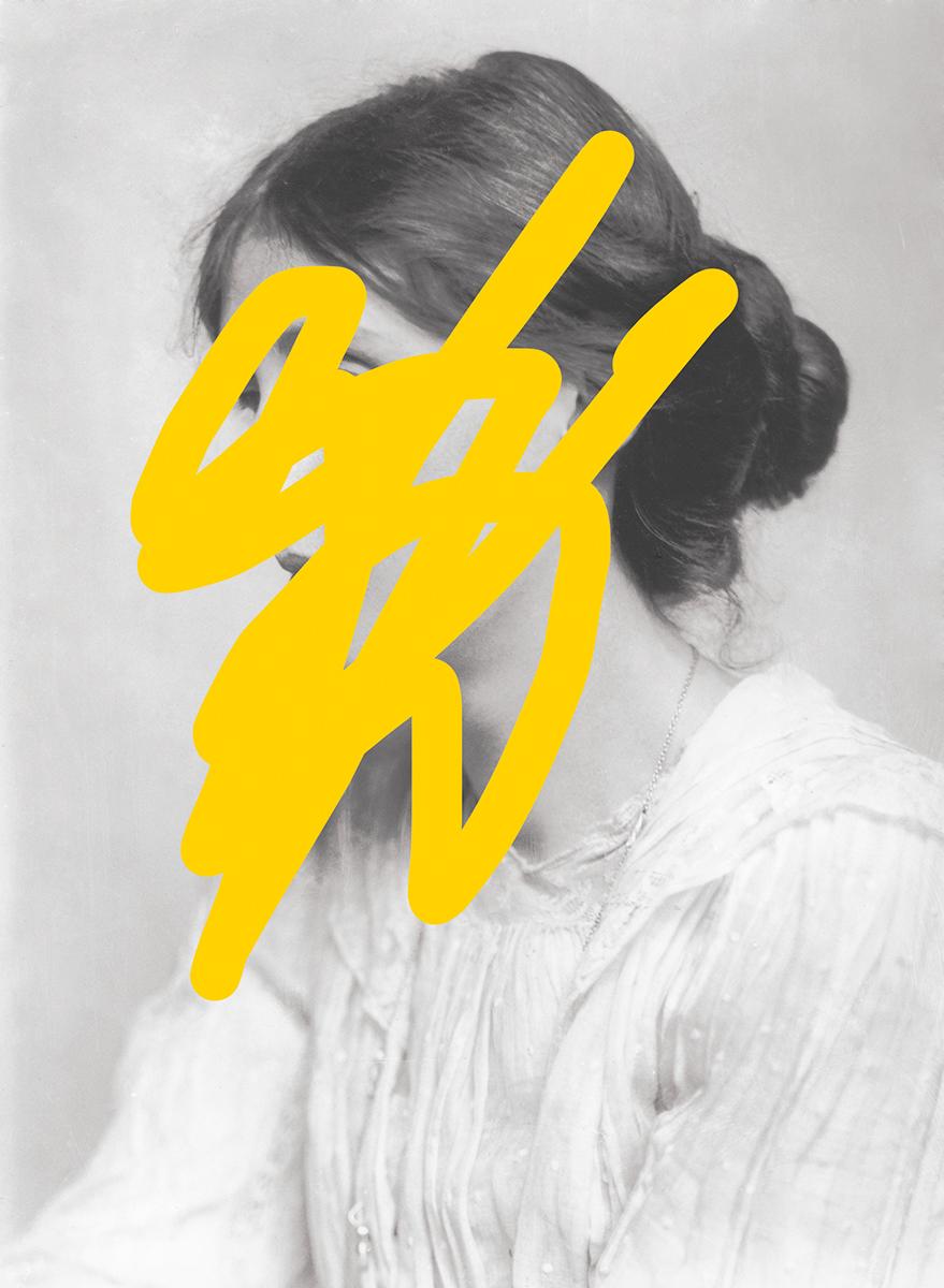 Virginia Woolf. Illustratsioon Anastassia Šarõmova