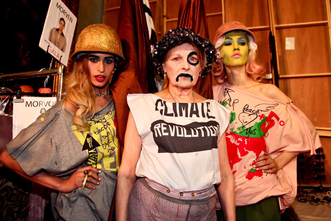 Vivienne Westwoodi kollektsioon Climate Revolution