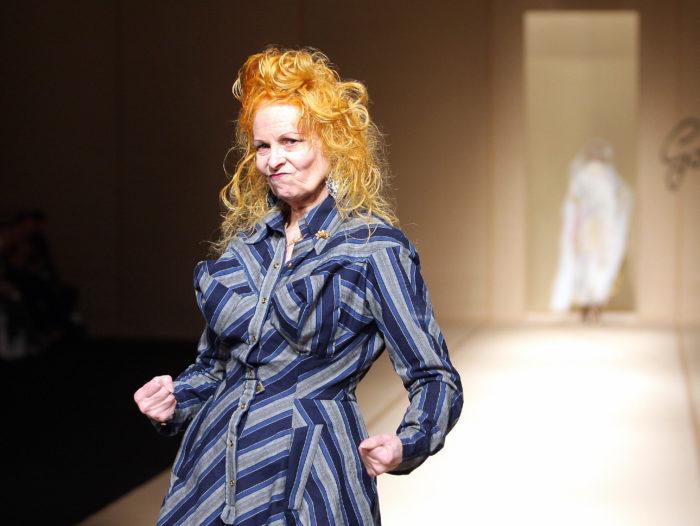 Vivienne Westwood. Foto: Pierre Verdy/AFP/Getty Images