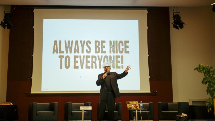 Endise Killing Joke'i ja Public Image Ltd'i liikme Martin Atkinsi sõnavõtt muusikatööstuse hetkeseisude teemal. Foto: Mart Vares