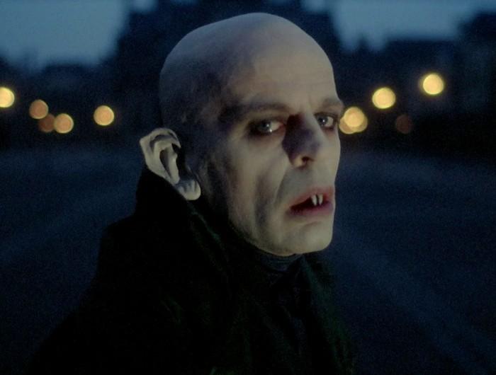"Klaus Kinski Werner Herzogi filmis ""Nosferatu, öö fantoom"""