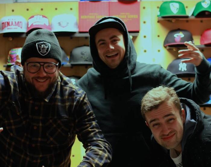 Yo!Hoovi korraldajad (vasakult) Tommyboy, Magnum PI ja DJ Philgood. Foto: erakogu