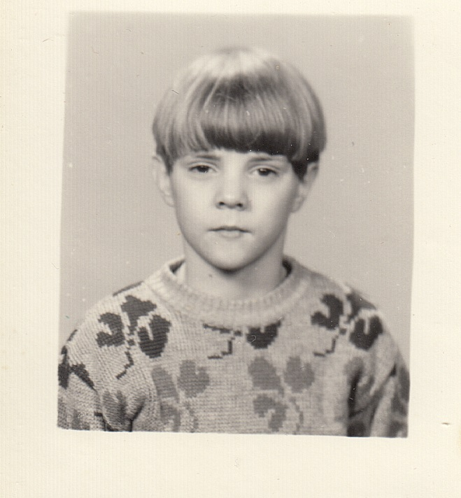 Youngarlic ehk Reimo Õun noorena. Foto: erakogu