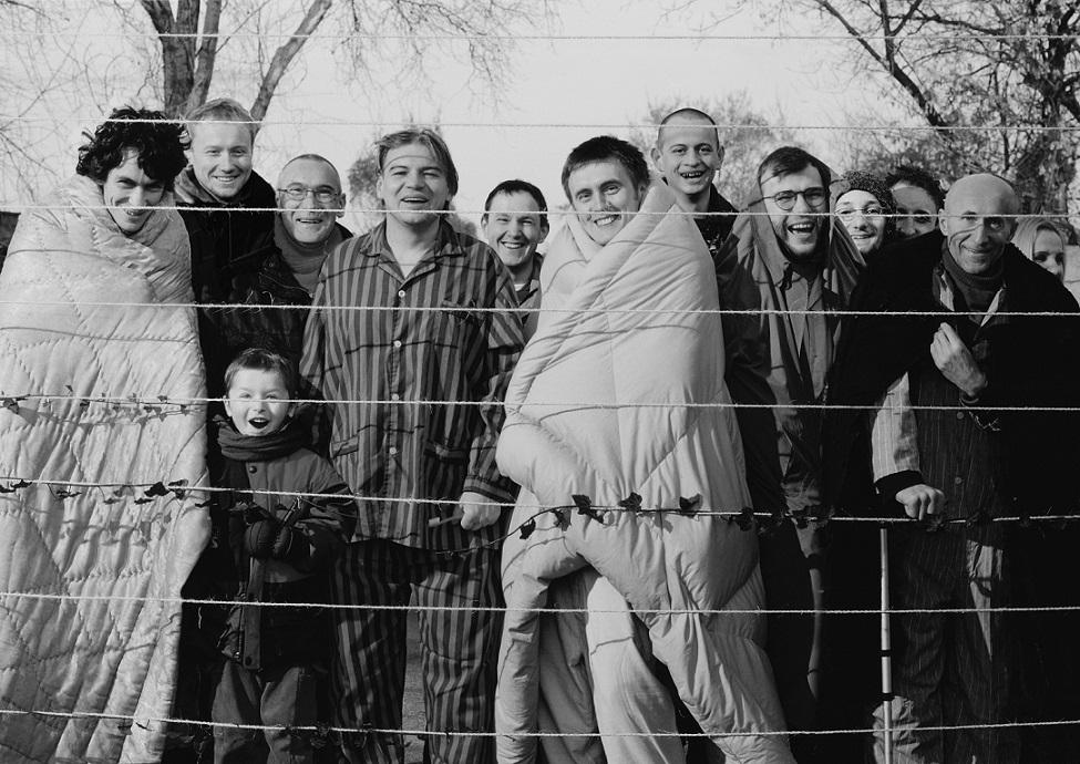 """Poleemika aluseks oleval Tartu Kunstimuuseumi näitusel """"Minu Poola. Mäletamisest ja unustamisest"""" eksponeeritud Zbigniew Libera teos """"Residendid"""" (2003)."""
