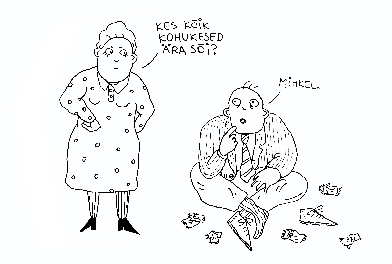 Illustratsioon: Ave Taavet