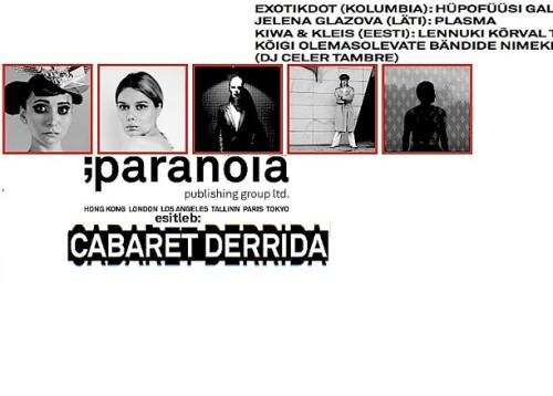 Cabaret Derrida plakat