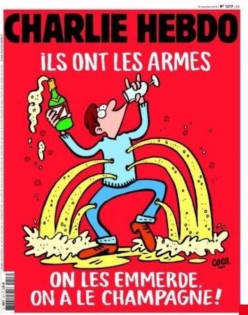 """Prantsuse satiiriväljaande """"Charlie Hebdo"""" hiljutine esikaas"""