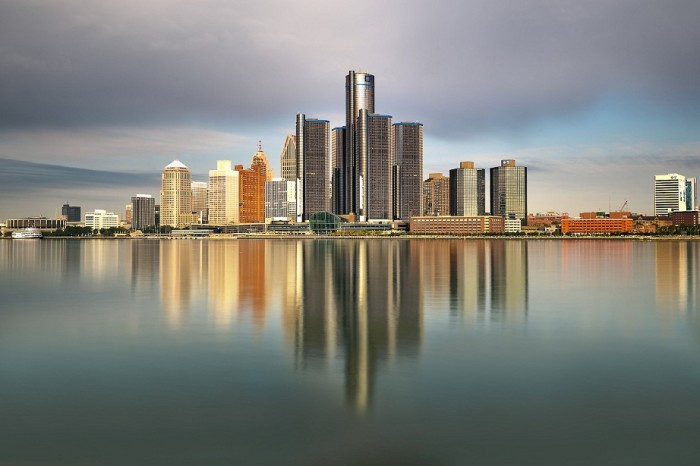The image of density – Detroit from afar. Source: www.republica.com