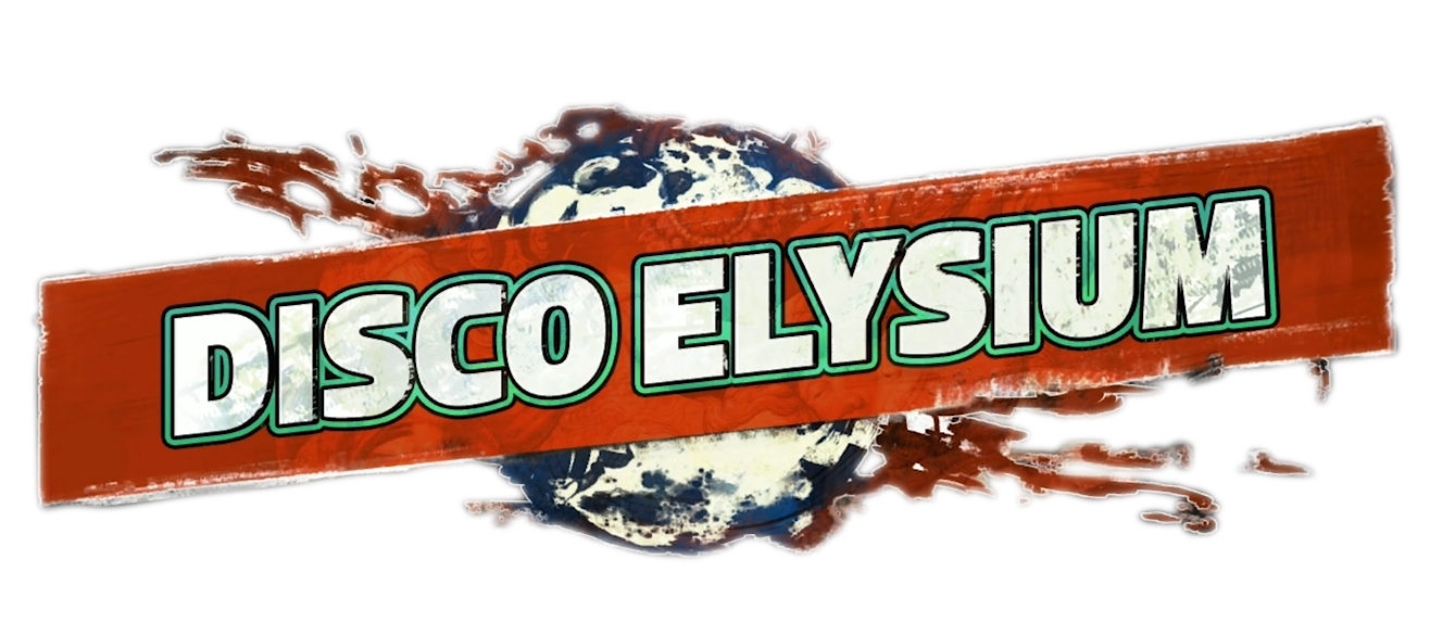 """Disco Elysiumi"" logo"