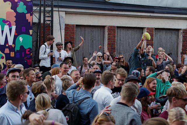 Flow rahvas festivali viimasel päeval. Foto: Maija Astikainen