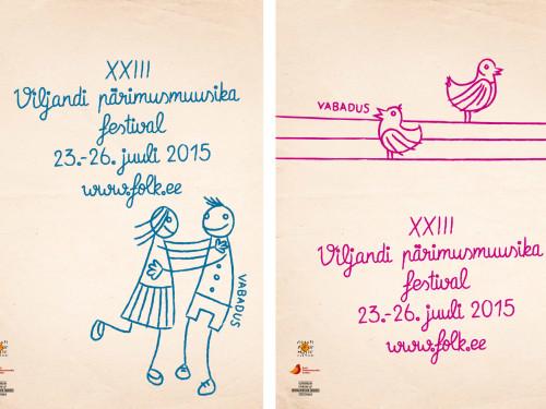 XXIII Viljandi pärimusmuusika festivali tunnuskujundus