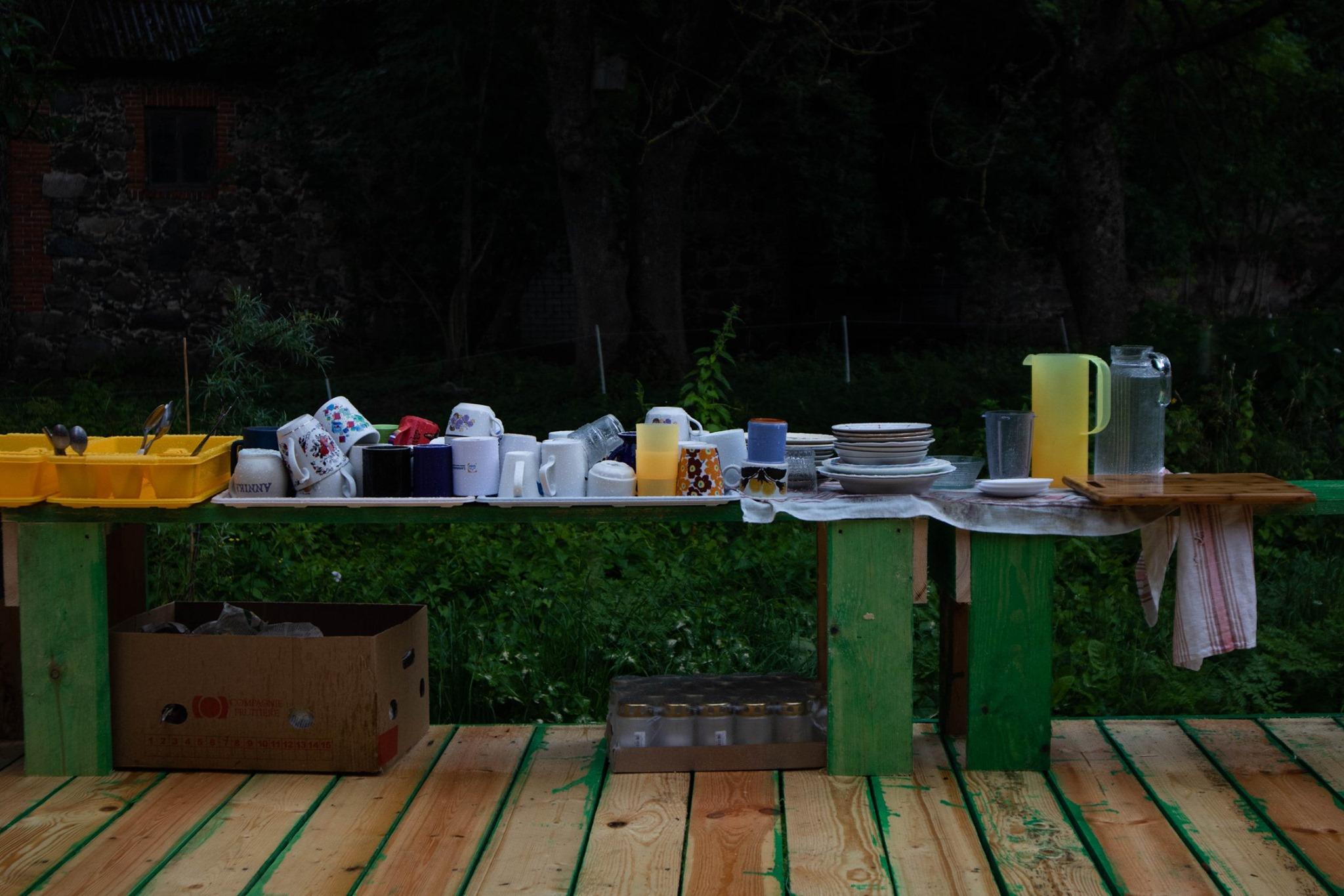 Festivali sööginõud. Foto: Linda Maria Saar