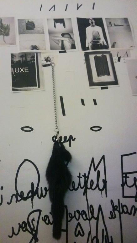 """""""Hanged dead animal"""". Foto: Laivi Suurväli"""