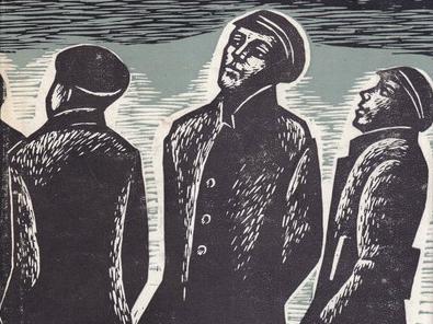"""Z-generatsiooni esindajad on nagu Indrek Paas – tööpõlguritest õrnahingelised idealistid. Illustratsioon: Herald Eelmaa, """"Tõde ja õigus"""", II köide"""