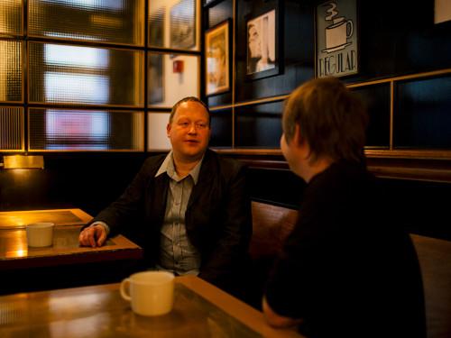 Jaak Tomberg ja Neeme Lopp. Foto: Priit Mürk