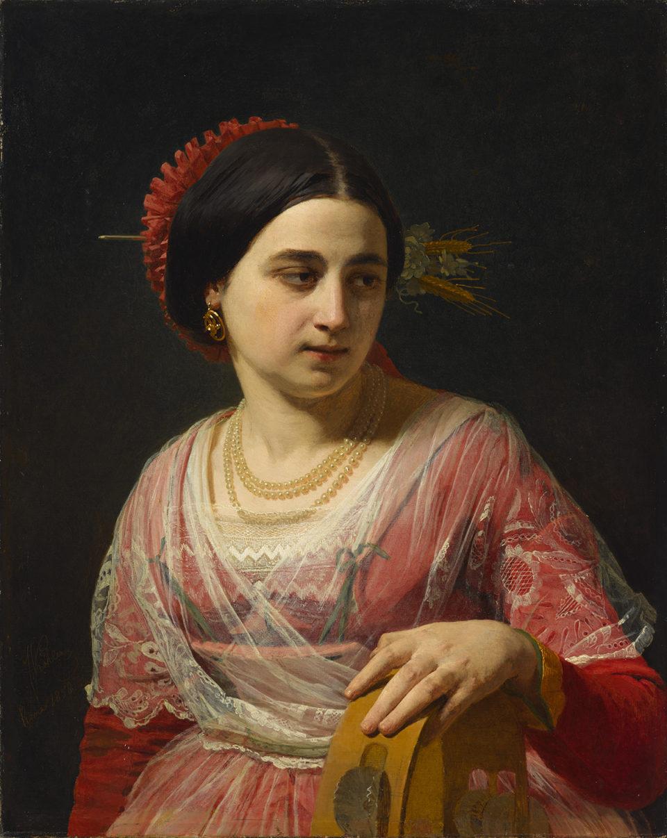 """Johann Köler """"Roomlanna"""", 1858. Foto: Eesti Kunstimuuseum"""