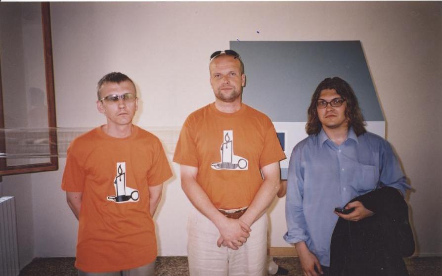 John Smith ja Anders Härm – Eesti meeskond aastal 2003.