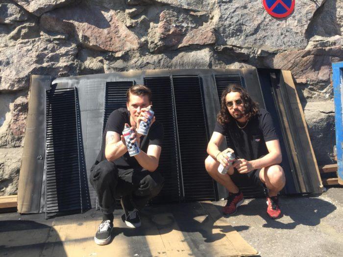 Justus Valtanen ja Daniel Kayrouz. Foto: press