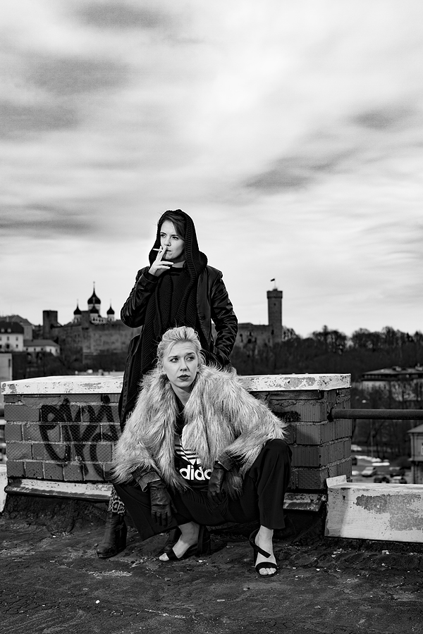 Piret Krumm ja Katariina Tamm. Foto: Priit Mürk
