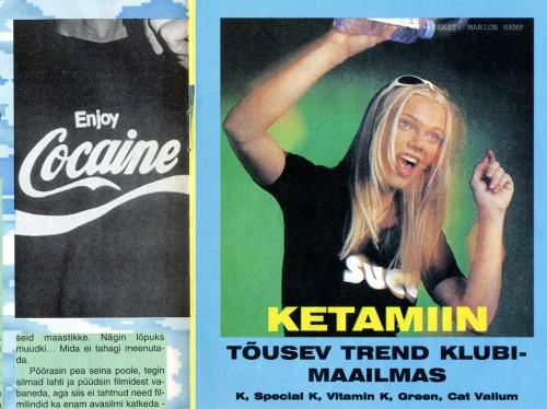 Kõik väljalõiked: Xpress ja Meie Meel 1997–1998