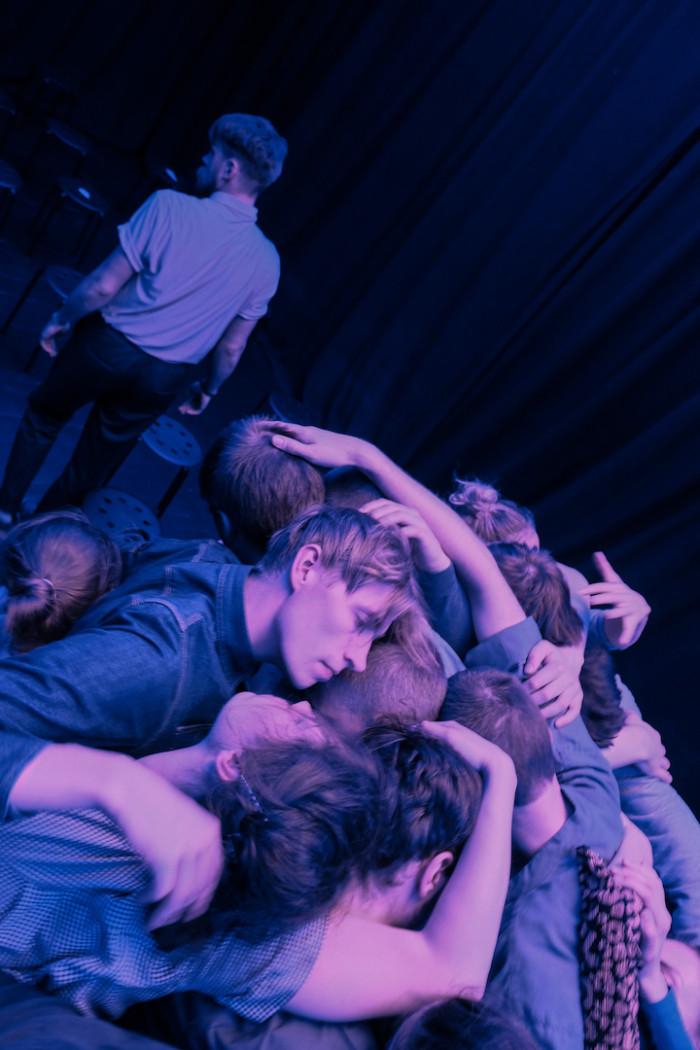 """Hetk """"Koguduse"""" etenduselt. Foto: Herkko Labi"""