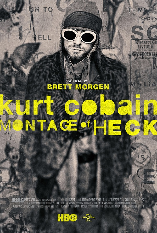 """Kurt Cobain: Montage of Heck"" plakat"