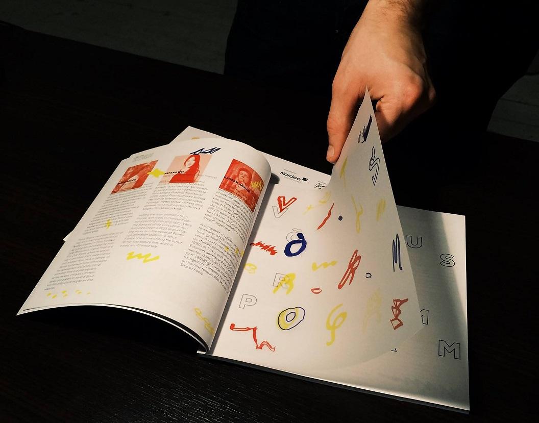 LE60 kujundatud Animated Dreamsi identiteet. Foto: erakogu