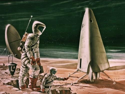 Kosmoserännud utopiste enam ei paelu. Foto: (CC)