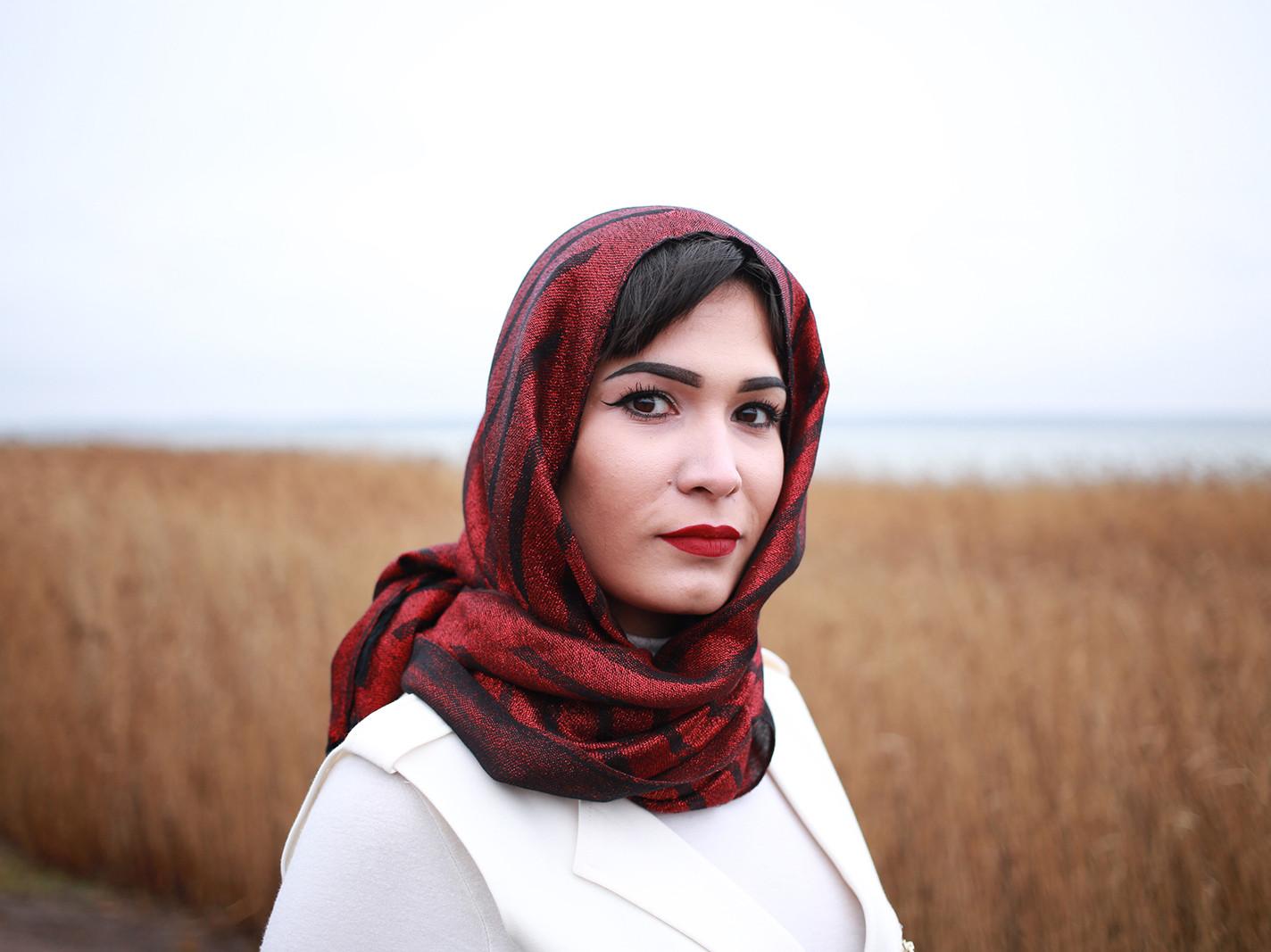 Marwa Eesti moslemikogukonnast. Foto: Annika Haas