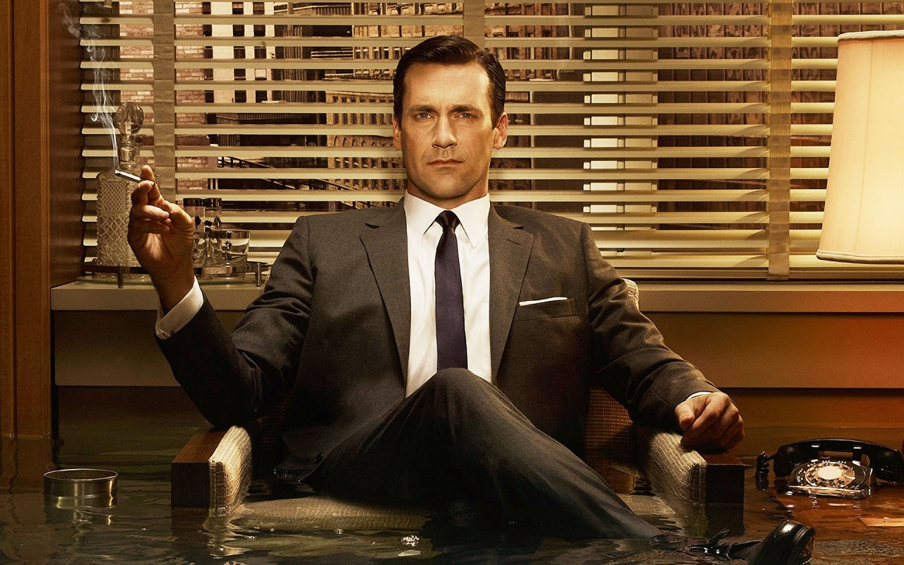 "Hegemoonilisele mehekuvandile vastav Don Draper USA telesarjast ""Mad Men"". Foto: press"