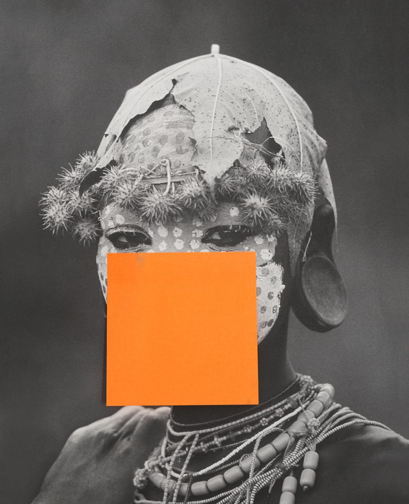 """Sigrid Viir. """"Hans_55"""". Pigmentrükk alumiiniumil, raam, betoon ja metallkonstruktsioon 135 cm, suhkur, seerias 12 tööd, 2016. Kunstniku ja Temnikova & Kasela galerii loal"""