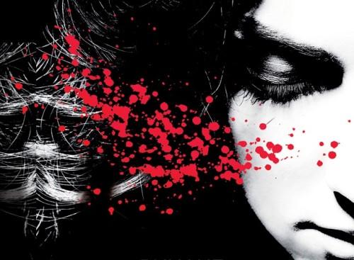 """Salla Simukka """"Punane nagu veri"""" kaanekujunudus"""