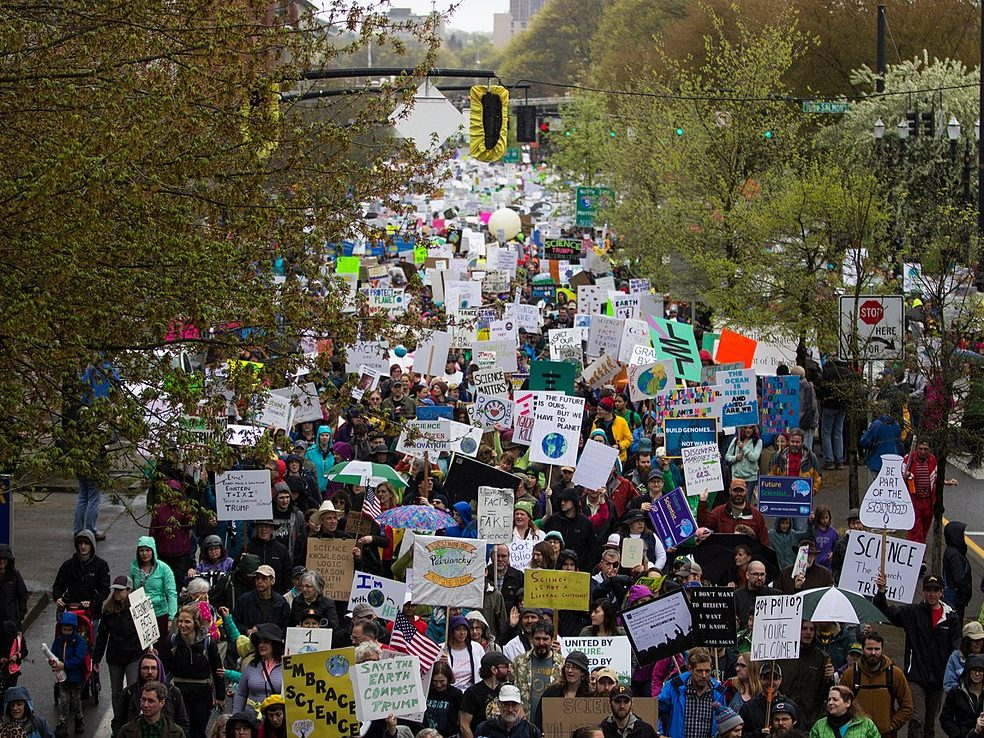 Teadusmarss 2017. aasta aprillis Portlandis USAs. Foto: Joe Frazier (CC-by-2.0)
