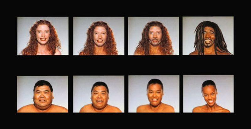 """Kaadrid Michael Jacksoni 1991. aasta """"Black and White"""" muusikavideost, mida võib vaadelda süvavõltsingute eelkäijana"""
