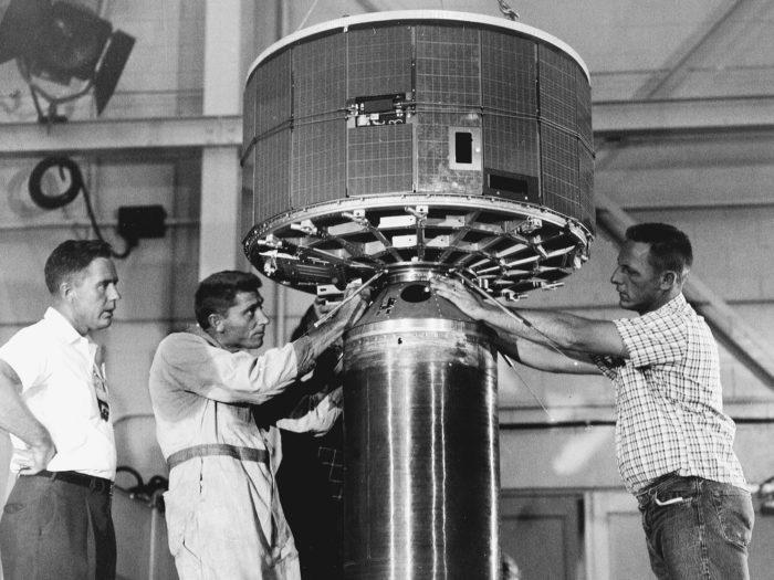 NASA esimene ilmasatelliit nimega Tiros. Foto: NASA