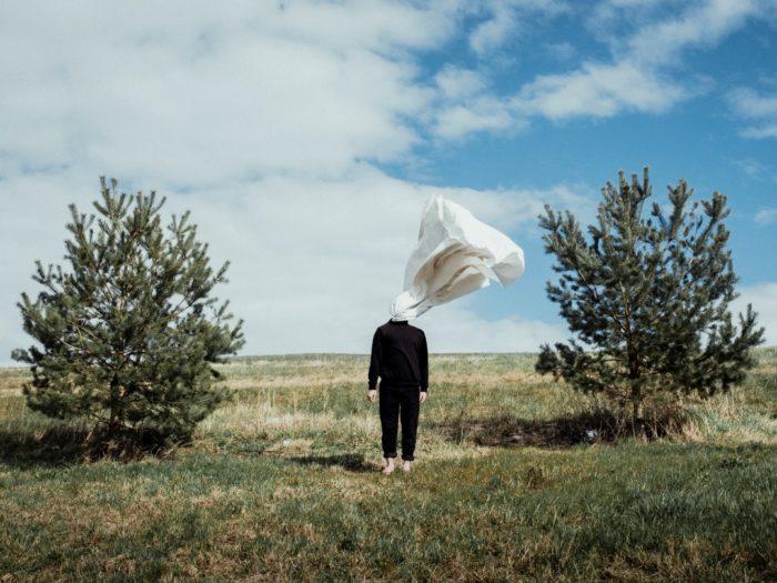 """Joosep Kivimäe töö Fotomuuseumi projektist """"Isolatsioonidialoogid"""""""