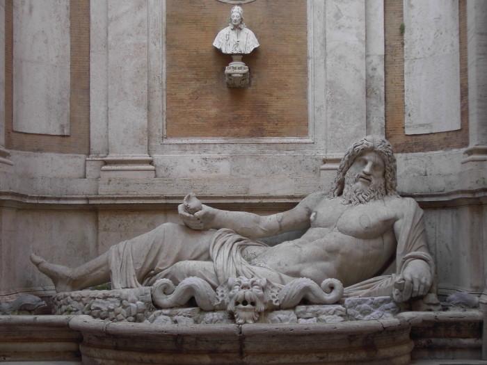 Merejumal Okeanose kuju Rooma Kapitooliumi muuseumis. Foto: Wikimedia Commons