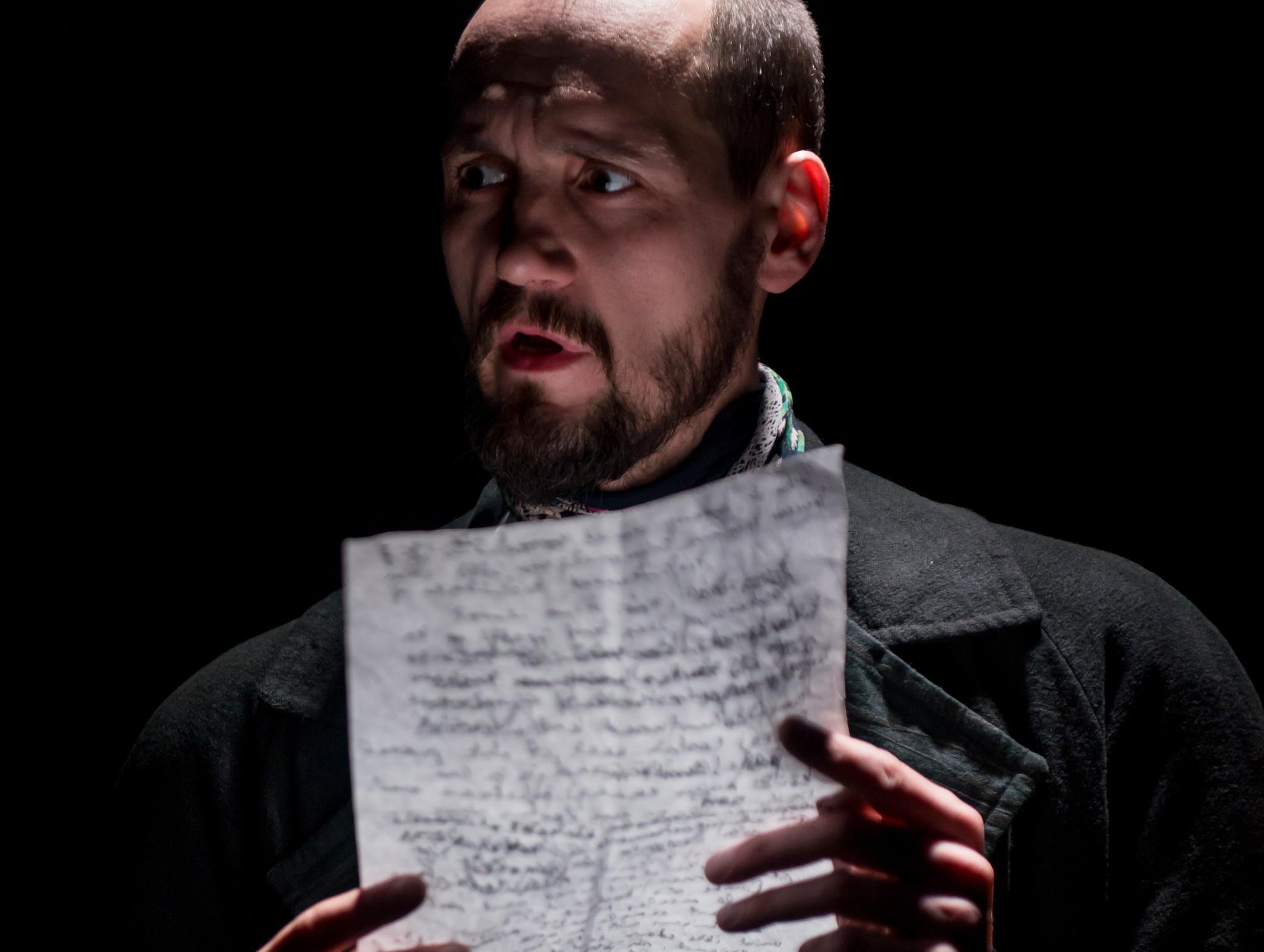 Kristjan Sarv Jaan Oksa rollis. Foto: Mats Õun