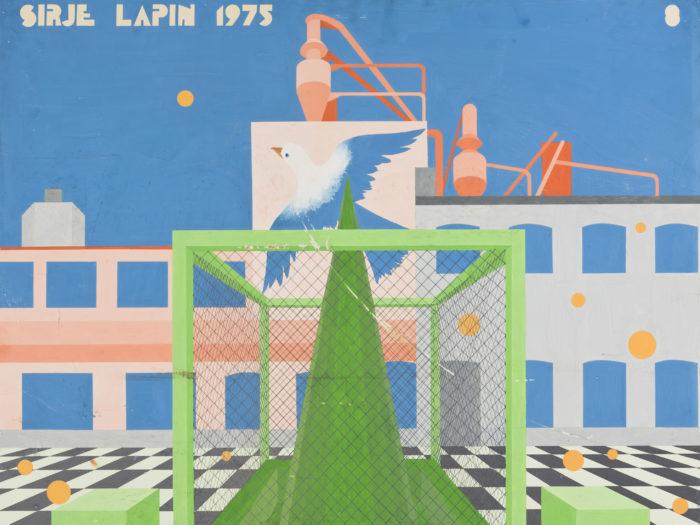 """Sirje Runge """"Tallinna kesklinna miljöö kujundamise võimalusi"""", 1975. Repro: Eesti Arhitektuurimuuseum"""