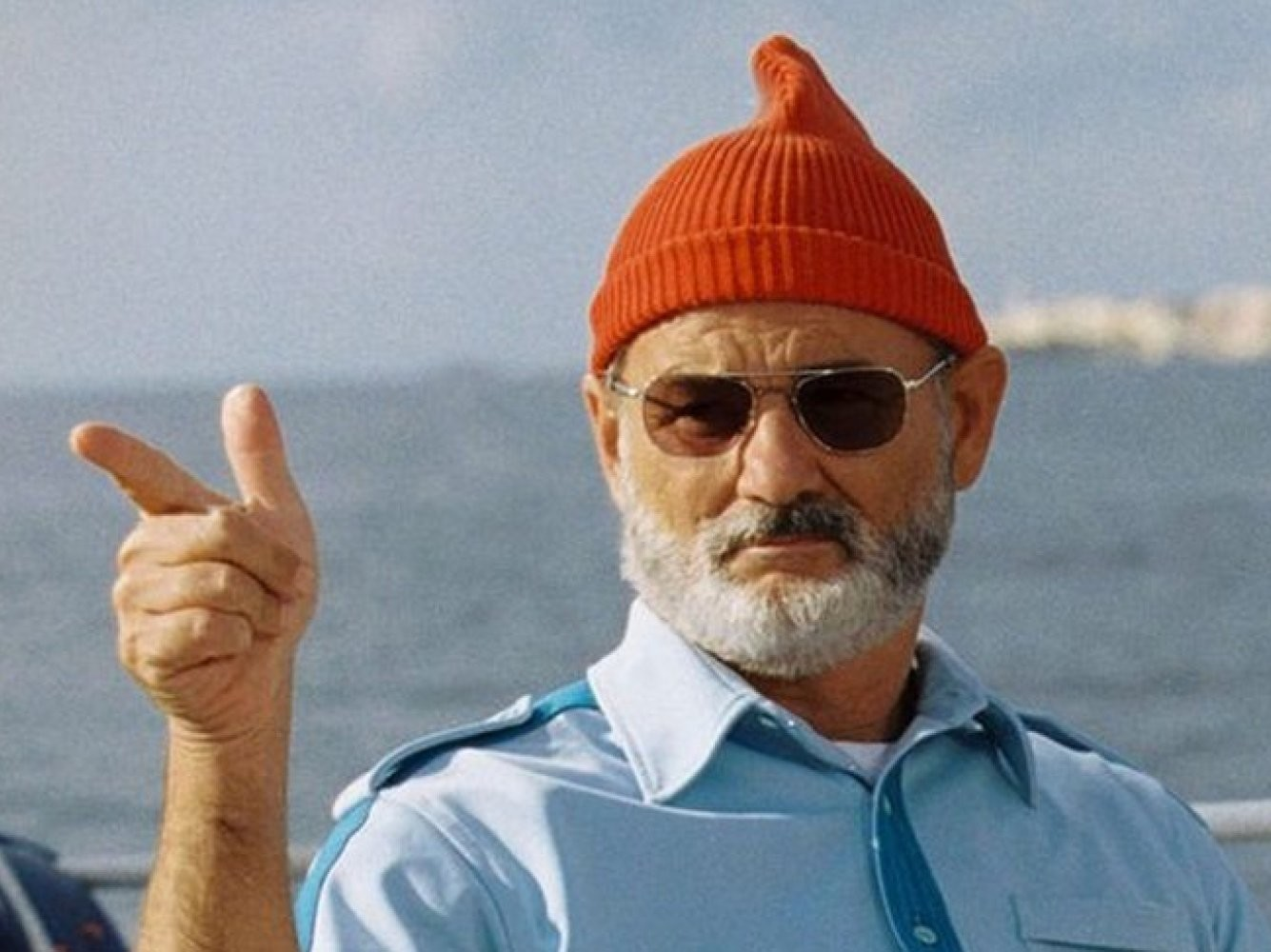 "Konkursi patroon on sel aastal näitleja, koomik ja rahvusvaheliselt tuntud spioon Bill Murray. Kaader filmist ""The Life Aquatic with Steve Zissou"""