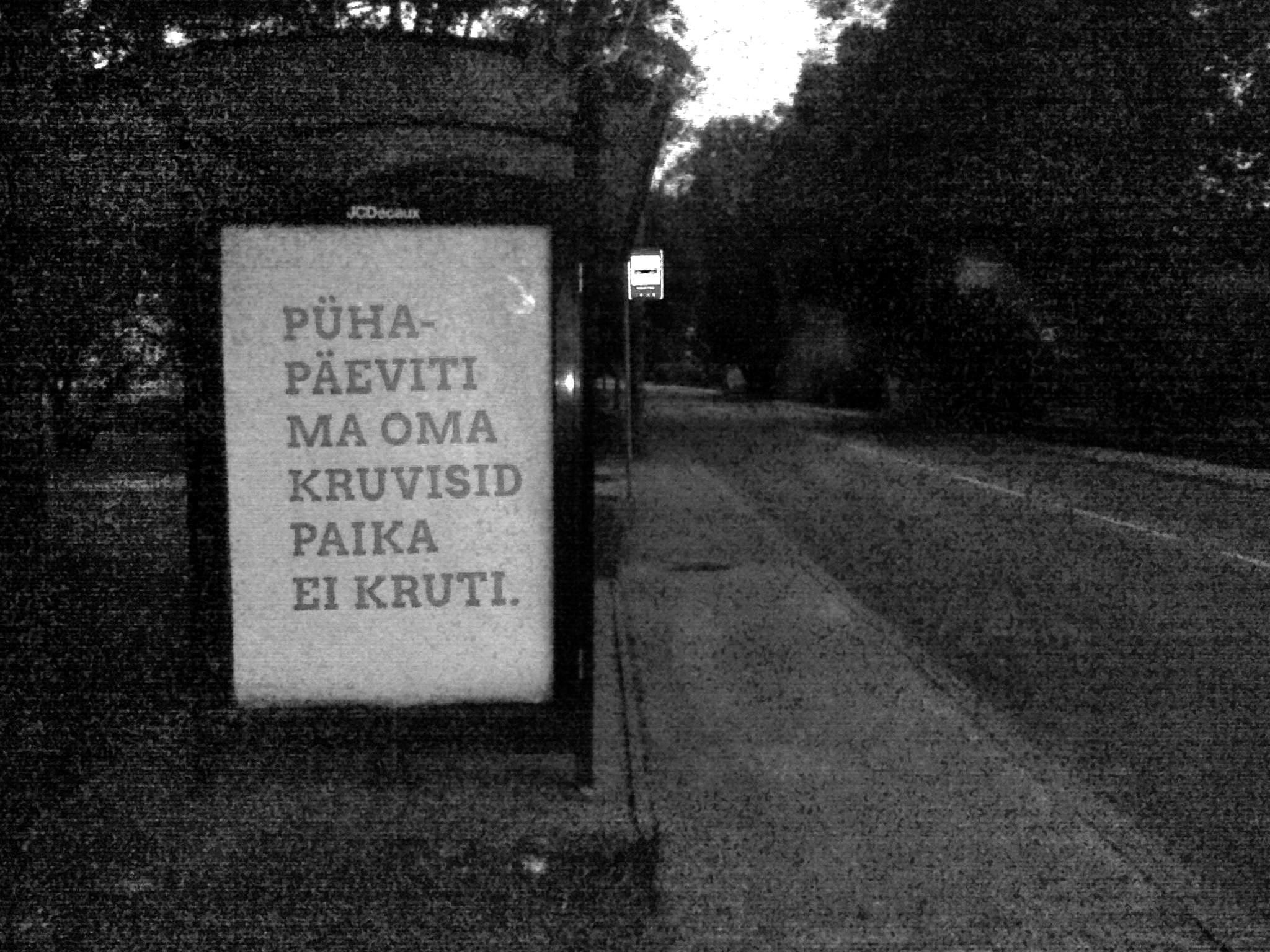 Kunst Tartu tänavatel. Foto: erakogu