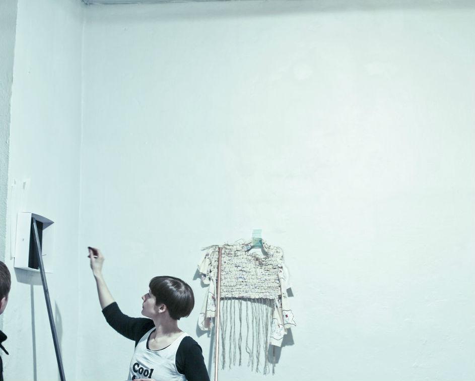 Sophie Jungi näitus Temnikova & Kasela galeriis. Foto: Zuzu Izmailova