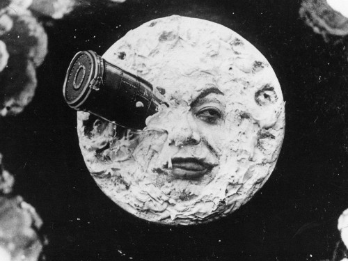 "Kaader Georges Méliès' filmist ""A Trip to the Moon"" (1905)"