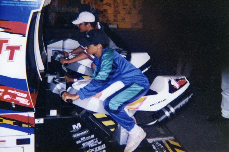 Dressid – check! Nokats – check! Videomängusaal – check! See on tüüpiline suvi 90ndatel Tivolis. Foto: erakogu