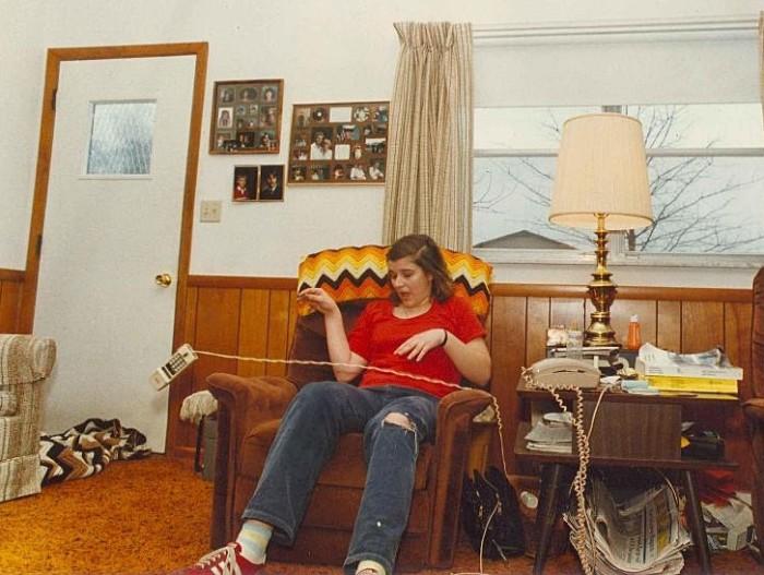 Väidetavalt poltergeisti küüsi sattunud Tina Resch, kelle juhtum hiljem küll pettuseks tunnistati. Foto: The Dispatch Printing Company