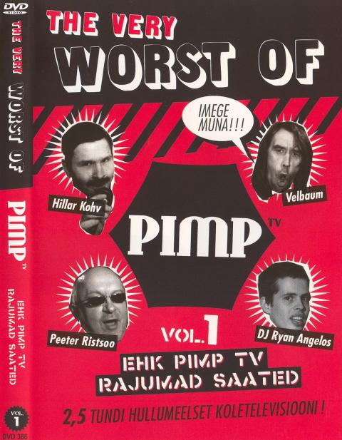Pimp TV halvimate paladega DVD kaas