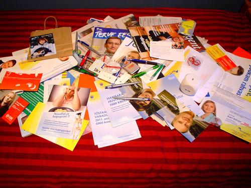 Valik valimisreklaame. Allikas: www.gerdtarand.eu